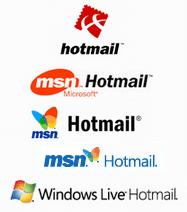 Hotmail logo-verandering door de jaren heen