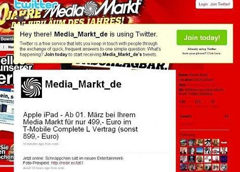 Mediamarkt iPad