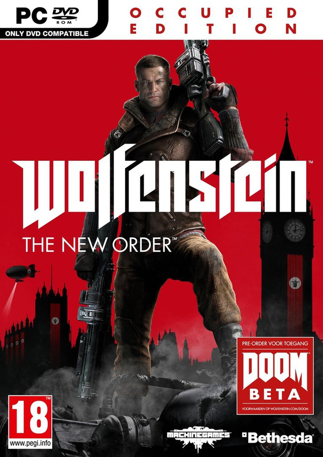 Wolfenstein: The New Order Occupied Edition, PC (Windows)