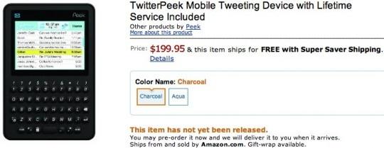 Twitterpeek op Amazon
