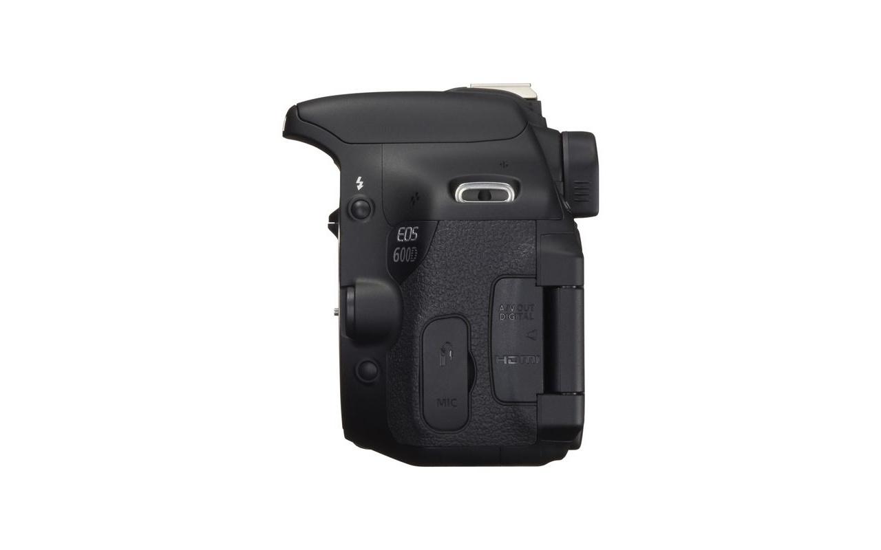 Canon eos 600d body zwart specificaties tweakers for Housse canon eos 600d