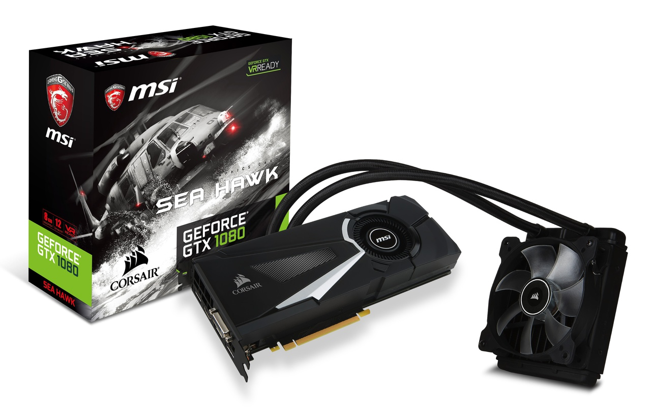 MSI GTX 1080 Sea Hawk
