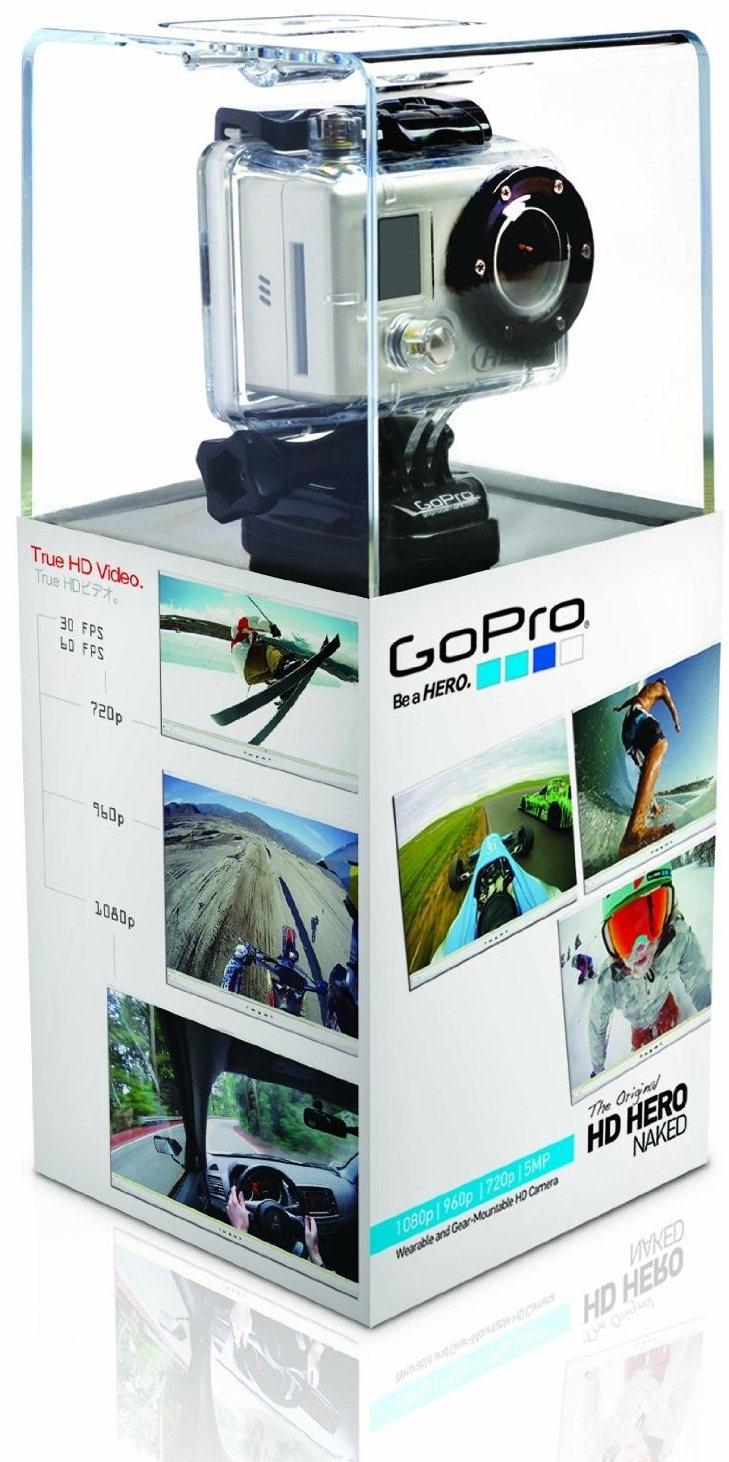 457972 Action! GoPro HD Hero Video Camera Kit HD Hero