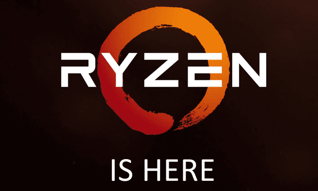 Ryzen is here