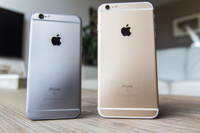 iPhone 6S en 6S Plus foto's