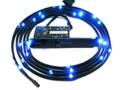 Goedkoopste NZXT Sleeved LED Kit, 1 Meter, Blauw