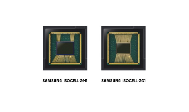 Samsung Isocell GM1 en GD1
