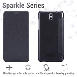 Nillkin Leather Case HTC Desire 610 - Sparkle Series black