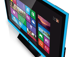 Maxpad-televisie met Windows 8