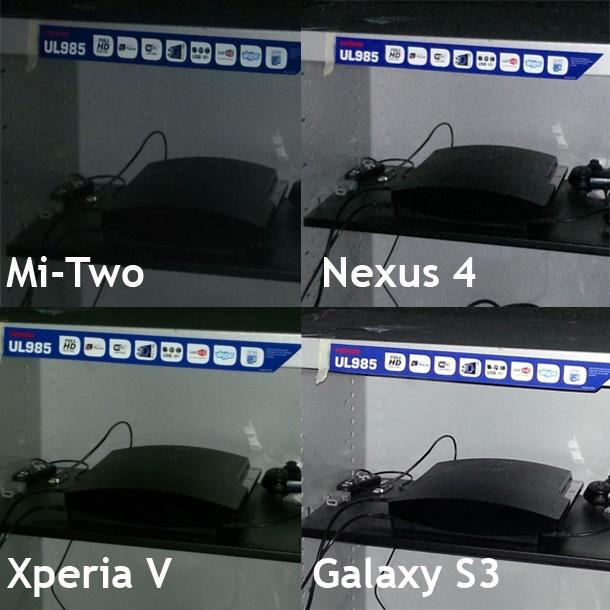 Fotovergelijking Xiaomi Mi-Two