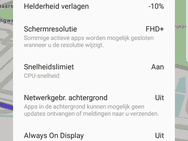 Samsung Galaxy S8 screenshots - accu-gerelateerd