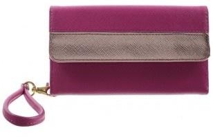 qMust Universeel portemonnee hoesje - met drukknop - 4 t/m 6 inch - Rose