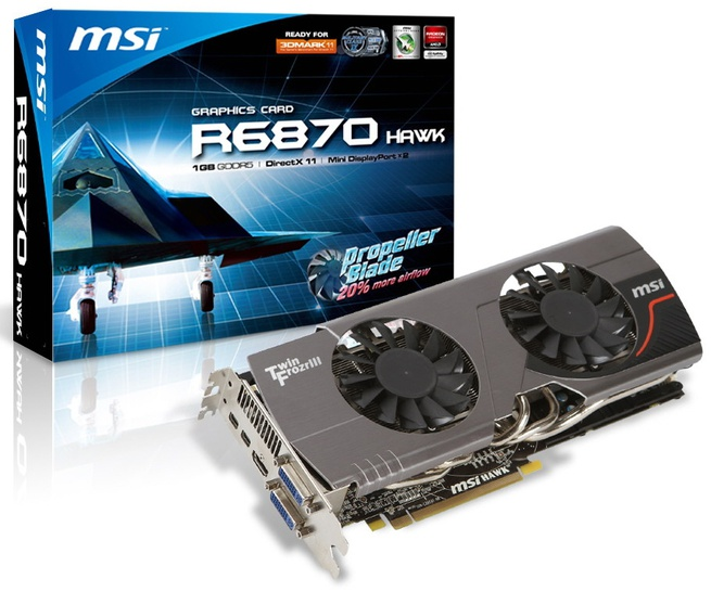 MSI HD 6870 Hawk