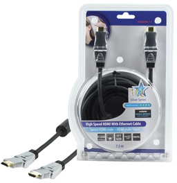 HQ Products 7.5m HDMI Ethernet