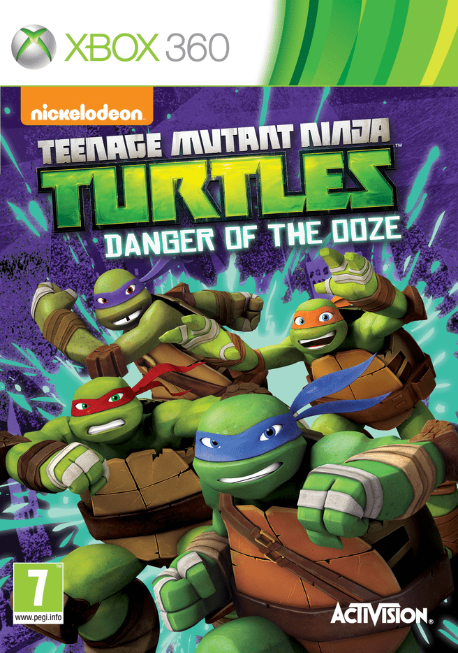 Teenage Mutant Ninja Turtles: Danger Of The Ooze, Nintendo 3DS