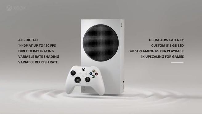 Xbox Series S specs