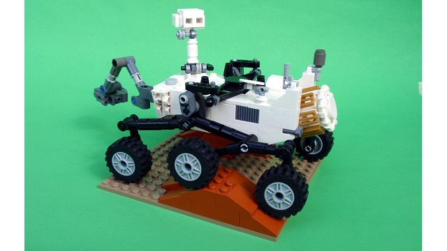 Lego Mars Science Laboratory Curiosity Rover