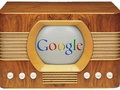 Logo Google in oude tv
