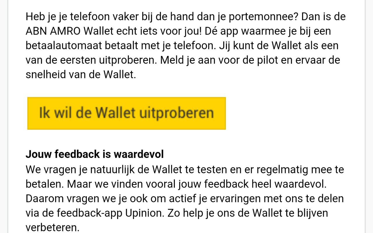 AMD AMRO Wallet-app