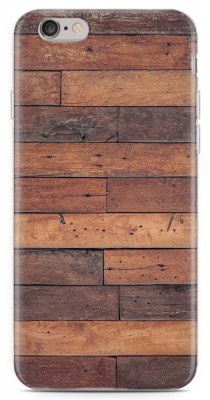 Just in Case iPhone 6/6S hoesje Houten planken