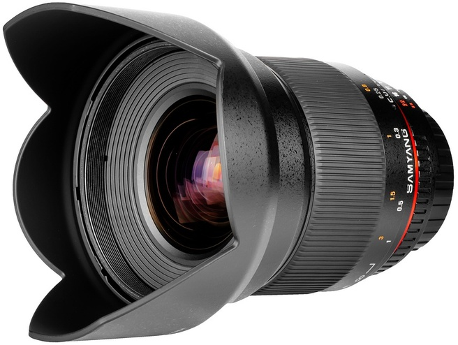Samyang Optics 16mm T2.2 ED AS UMC CS Canon EOS M