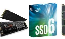 Intel 600p en Samsung 960 EVO
