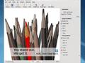 KDE 4.1 - Vernieuwde zijbalk in Gwenview