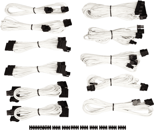 Corsair CP-8920153 Sleeved PSU Cable Kit Pro Wit