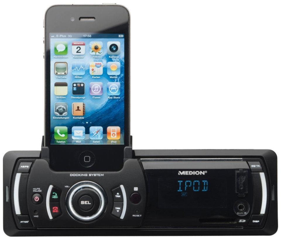 U uw iPhone aansluiten op uw autoradio