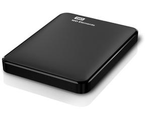 WD Elements Portable Storage 750GB Zwart