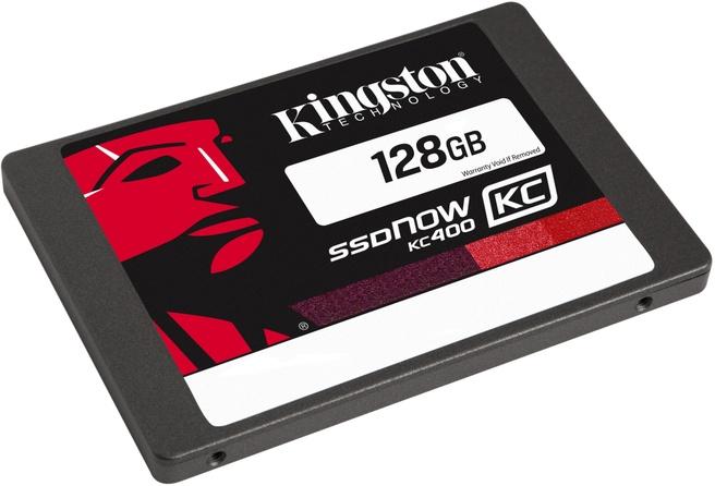 Kingston SSDNow KC400 128GB + Upgrade Kit