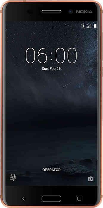 Nokia 6 3GB RAM, 32GB ROM Oranje