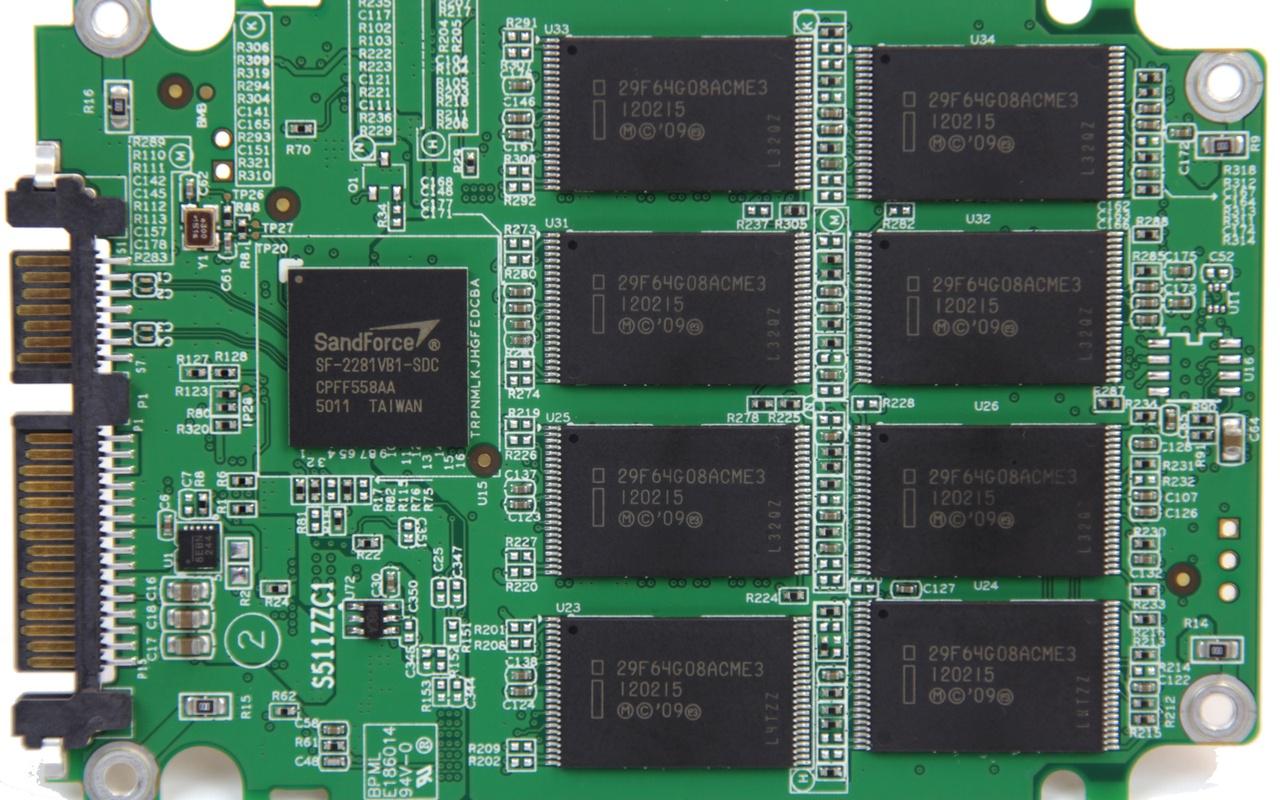 Adata SX900 pcb front