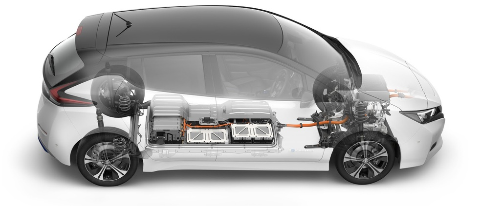 Nissan Leaf accupack