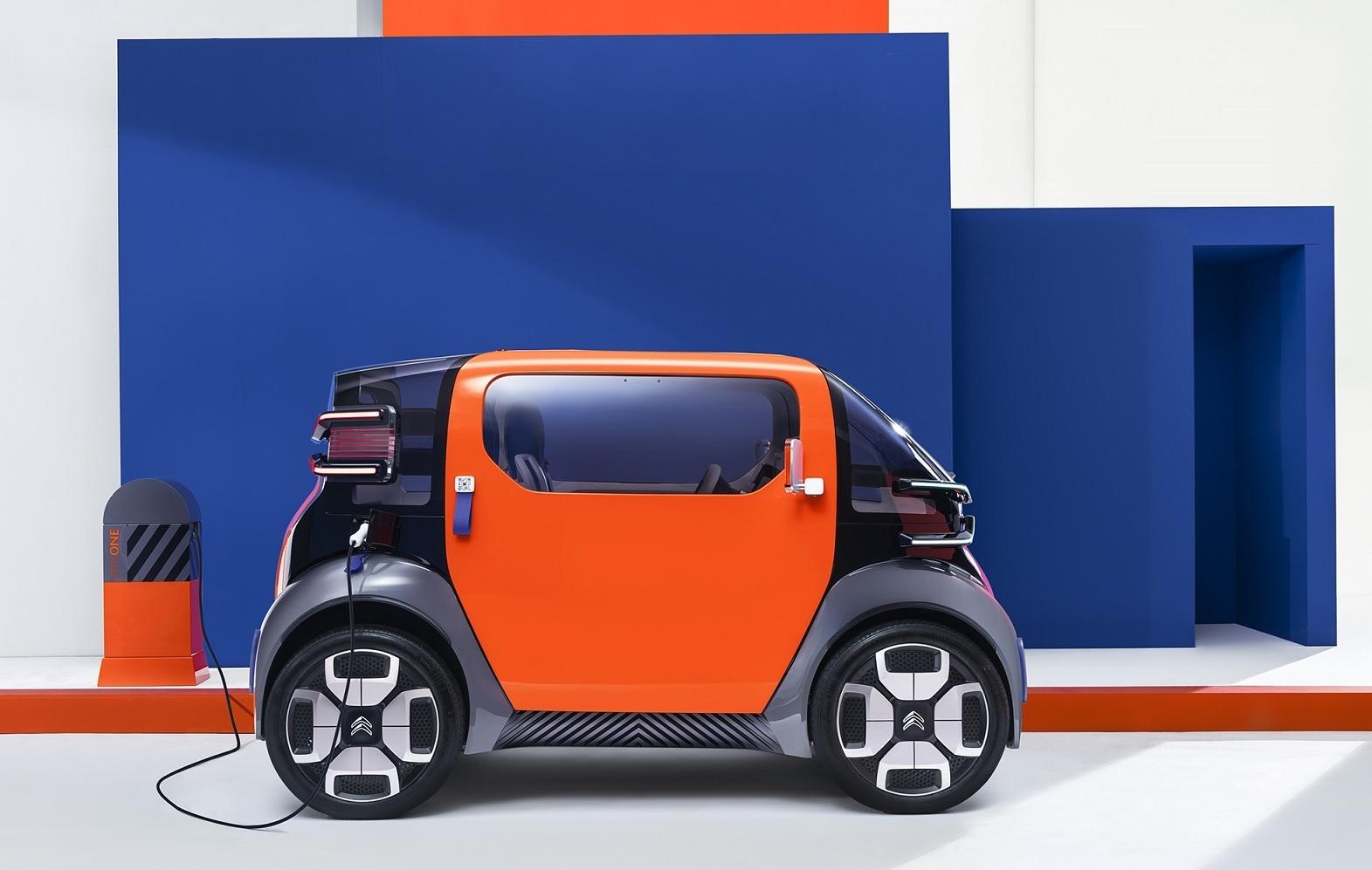 Citroën Toont Kleine Elektrische Tweezits Conceptauto Voor In Stad